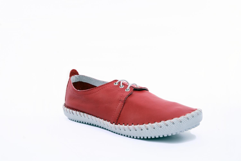 285af8c0958 Дамски ежедневни обувки от естествена кожа в черен, тъмносин, червен, Бежов  цвят - 64.99лв