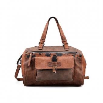 Дамска еждневна чанта от еко кожа