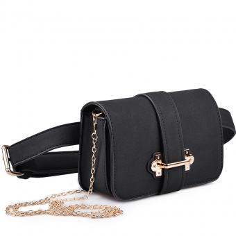 Дамска елегантна чанта от еко кожа