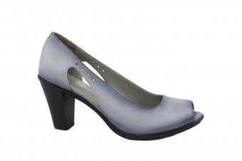 Дамски елегантни обувки от естествена кожа