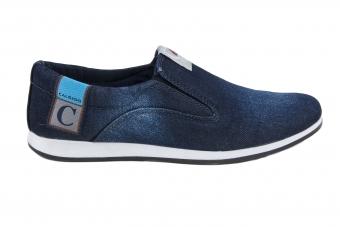 Мъжки ежедневни обувки от дънков материал