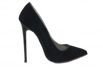 Дамски елегантни обувки от велур