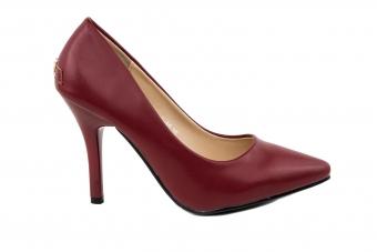 Дамски елегантни обувки от еко кожа