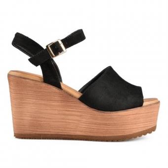 Дамски ежедневни сандали от текстил