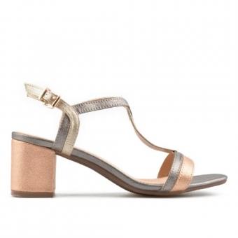 Дамски елегантни сандали от еко кожа