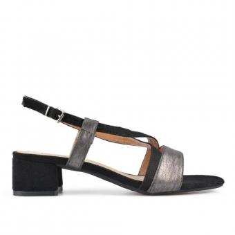 Дамски ежедневни сандали от еко кожа и текстил