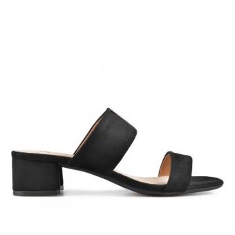 Дамски елегантни чехли от текстил