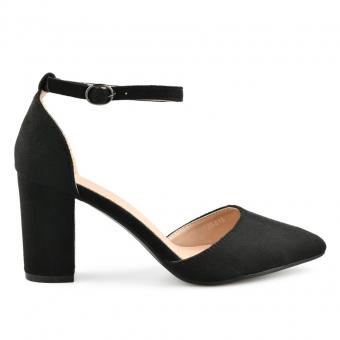Дамски елегантни сандали от текстил