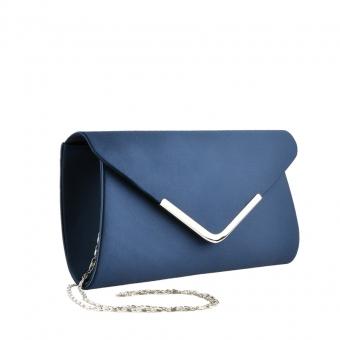 Дамска елегантна чанта синя