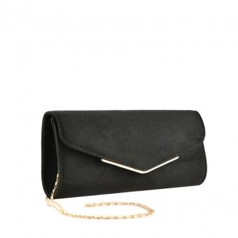 Дамска елегантна чанта черна