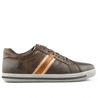 Мъжки спортни обувки от eстествена кожа