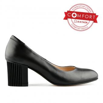 Дамски елегантни обувки от eстествена кожа