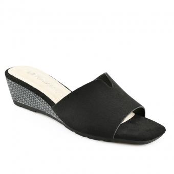 Дамски ежедневни чехли от текстил